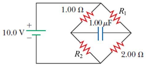 difference between capacitor voltage rating the circuit in the figure below has been connected chegg