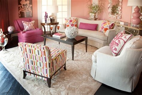 Salmon Colored Curtains Designs Decorating With Shades Of Coral