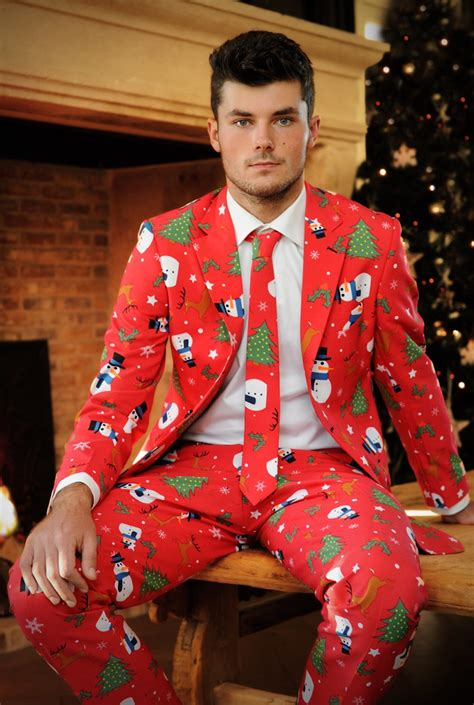 suit for christmas party company curates the ugliest clothing made