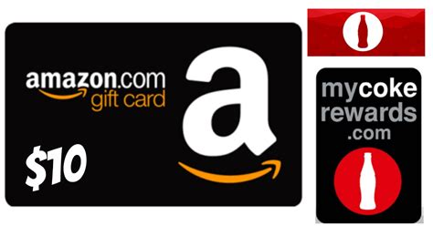 Amazon 10 Gift Card - my coke rewards 10 amazon gift card only 170 points more hip2save