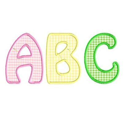 alphabet applique templates applique fonts