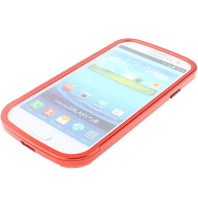 Gimmick Bumper Frame For Samsung Galaxy Siii Gimmick Five Triobump Aluminium Bumper Frame For