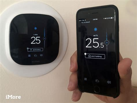 using the ecobee3 wifi thermostat with your iphone imore