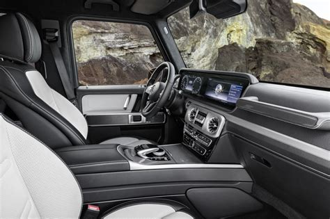 mercedes g class interior 2019 mercedes g class interior revealed in official photos