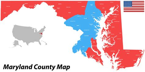 maryland election map maryland voters state to clinton southern