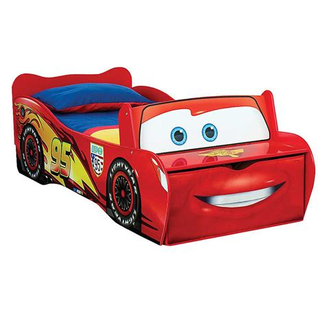 disney cars lightning mcqueen toddler bed cars lightining mcqueen 100 official toddler childs boys
