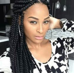 large braided hair styles braided hairstyles for black women trending 2015