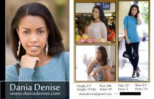 modeling 101 a model s diary new dania denise comp card