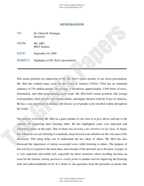 write memo template memorandum writing how to write memo academic assignment