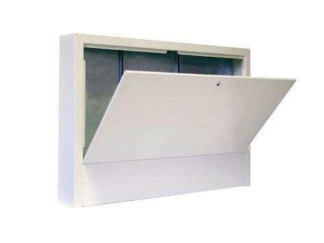 cassetta per collettori idraulici accessori per impianto termico e clima cassette da esterno