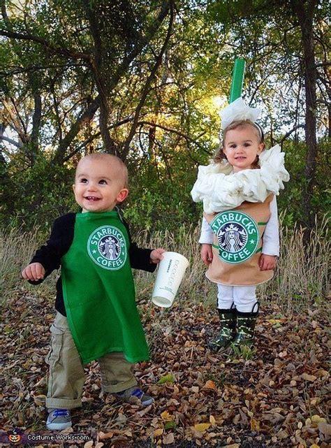 picture   childrens duo  starbucks costumes