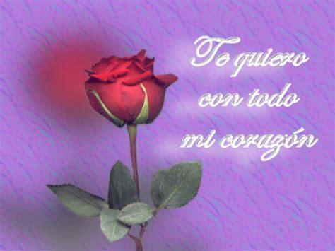 imagenes de rosas te quiero im 225 genes gifs con frases te quiero gifs de amor