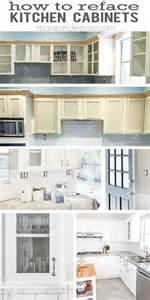 how to reface kitchen cabinets refacing kitchen cabinets maison de pax