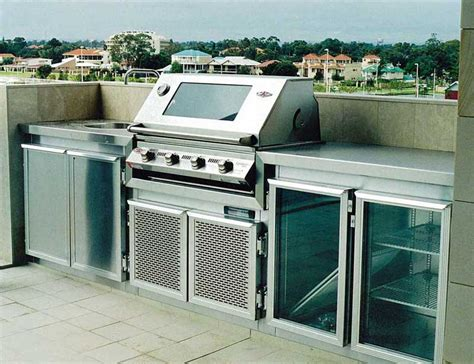 Barbecue Cabinets Gallery Outdoor Stainless Steel Cabinets In Perth