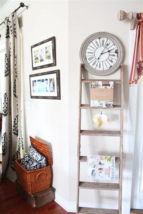 decor ideas  ladders vintage charm  space