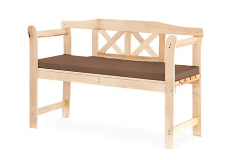 garden bench cushions 2 seater cushion for small outdoor home wooden 2 seat seater garden