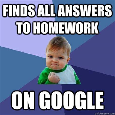 Homework Meme - homework all done funny memes