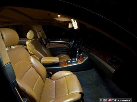 how make cars 2003 audi a8 interior lighting ecs news audi d3 a8 s8 led interior lighting