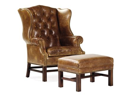 hancock and moore leather sofa hancock moore san francisco cromwell tufted wing chair