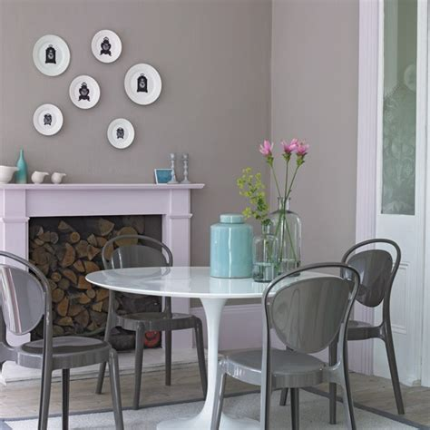 grey and white dining room housetohome co uk