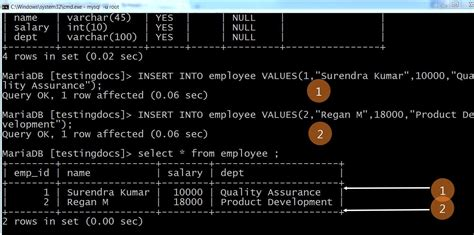 Insert Into Table Mysql by Write A Jdbc Program To Connect Mysql Database Testingdocs