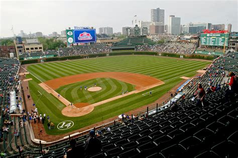 cubs bleacher seats 2017 this is the best place to catch a home run at wrigley
