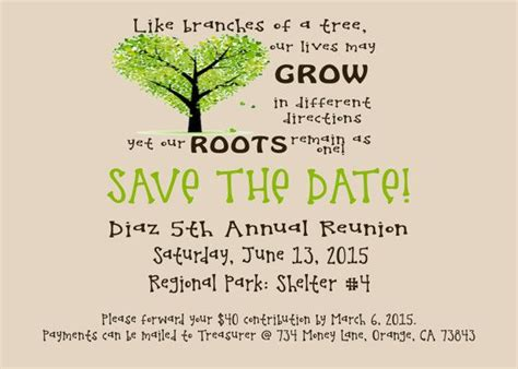 Family Reunion Save The Date Cards Templates by 25 Best Ideas About Family Reunion Invitations On