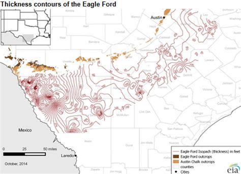 texas resources map eia updates eagle ford maps to provide greater geologic detail today in energy u s energy