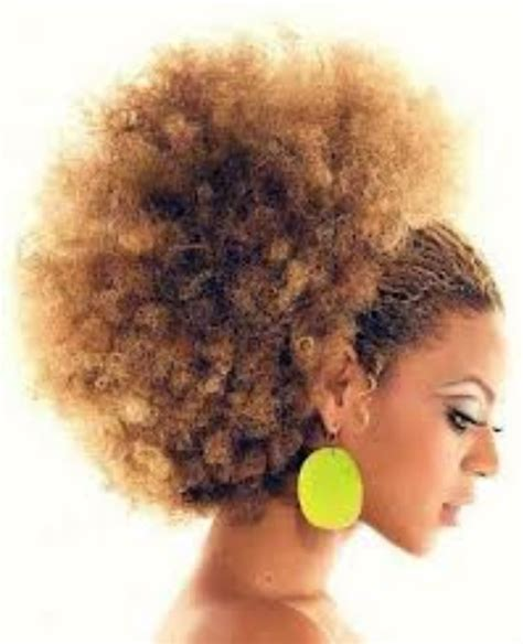 large afro puff ponytail 31 best images about natural hair pony tail on pinterest