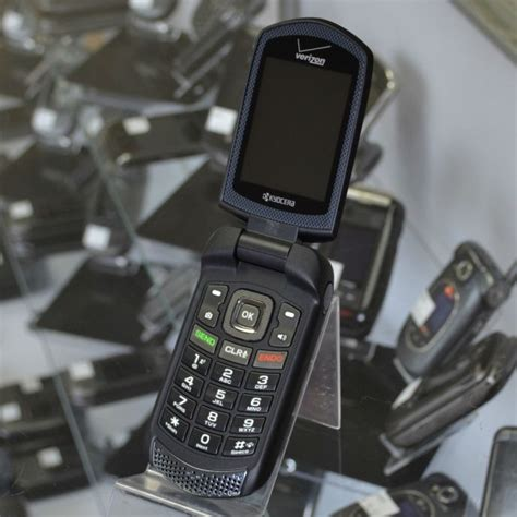 kyocera rugged phone kyocera duraxv e4520 excellent used rugged verizon flip phone for sale