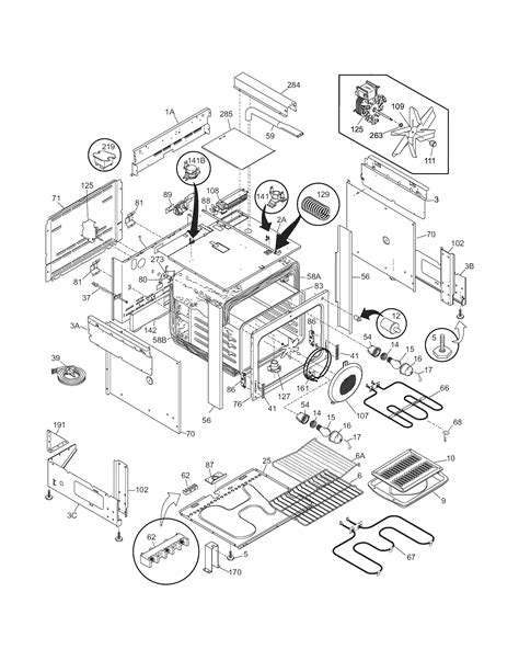frigidaire oven parts diagram frigidaire cpes389ac1 range timer stove clocks and