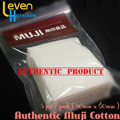 Grosir Kapas Muji Muji Cotton 100 Authentic Japanese Organic Cotton jual muji organic japanese cotton kapas organik jepang untuk vaping leven