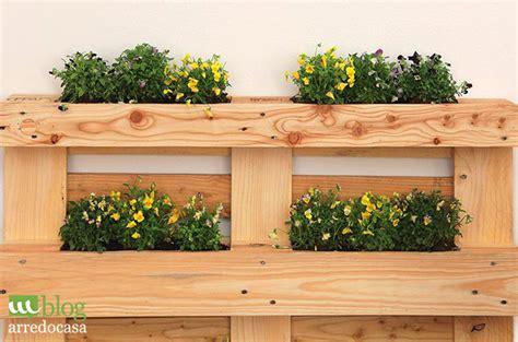 giardino terrazzo fai da te terrazzo con pallet orto sul balcone come realizzare un
