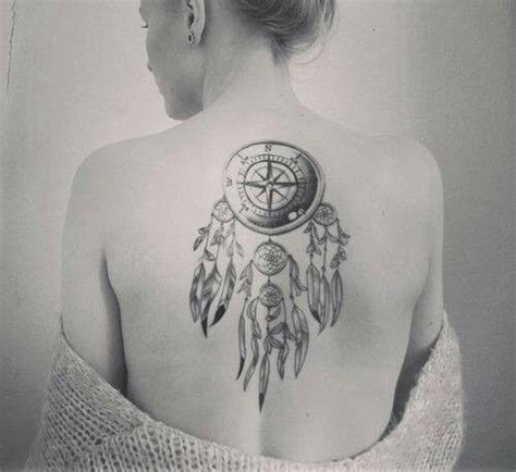 dreamcatcher compass tattoo neck 1000 images about tattoos dream catcher on pinterest