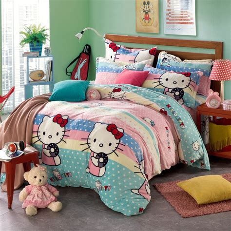 girls bedroom comforter sets polka dot comforters and quilts hello kitty comforter sets