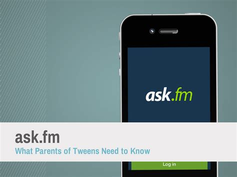 ask fm login mobile chances are your tween is on ask fm here are the dangers