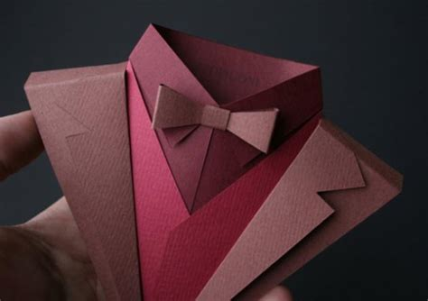 Origami Suit - fedrigoni s suit origami makes paper look gorgeous