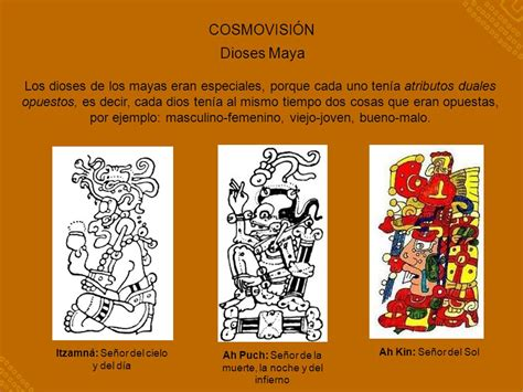 los dioses de cada mesoam 201 rica y la cultura maya ppt descargar