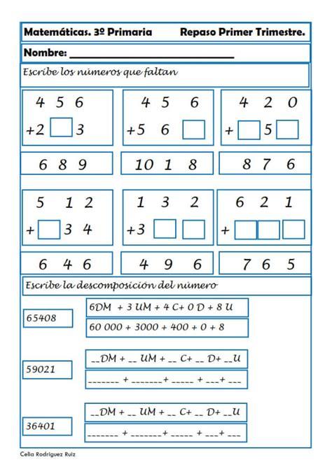 matemticas 3 primaria 8468012866 fichas de matem 225 ticas para tercero de primaria