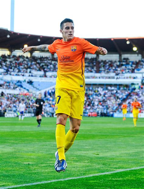 barcelona zaragoza christian tello photos photos real zaragoza v fc