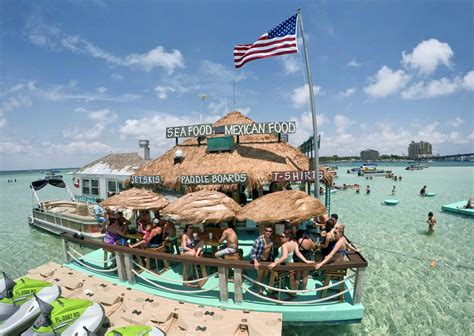 tarzan boat destin crab island crackdown island businesses customers oppose