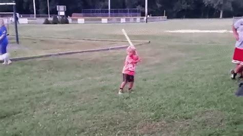 baseball bat flip swing wiffle ball bat flip kid with the excellent celebration