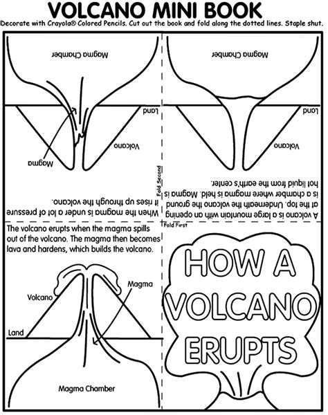 coloring page of volcano coloring page volcano coloring home