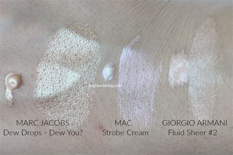 marc jacobs dew drops review liquid highlighter  oily skin