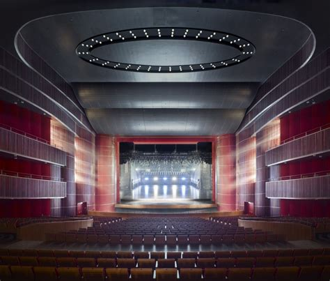 architecture photography grand theater qingdao gmp