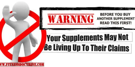 supplement claims popular supplement faces ftc charges does tv doctor say