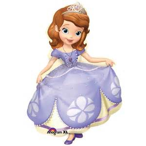 disney junior sofia jumbo foil balloon birthdayexpress