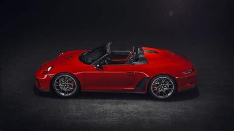 2020 Porsche Speedster by Porsche Confirms The 2020 911 Speedster With Yet Another
