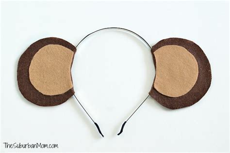 diy monkey ears headband tutorial