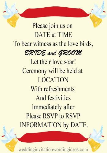 text for wedding invitation informal 22 best wedding invitation wording images on